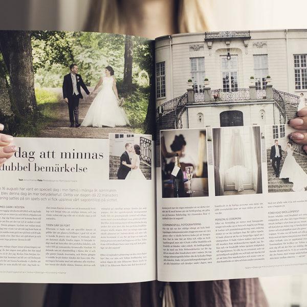 Publicerade i Bröllopsmagasinet vår 2015
