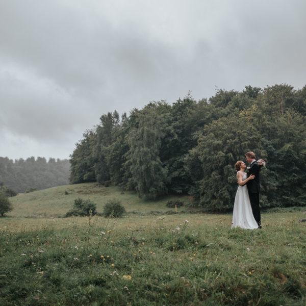 Anna & Simon - Österlen i regn