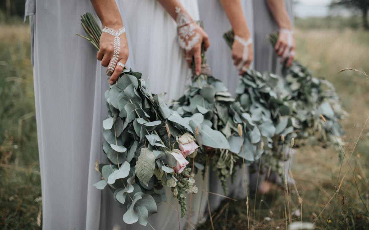 Fantastiska brudbuketter 2017