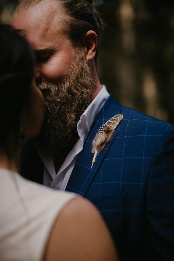 Bohemiskt bröllop med festivaltema