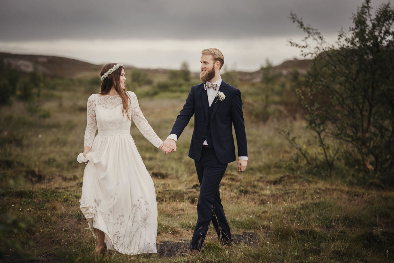 Destination bröllop på Island