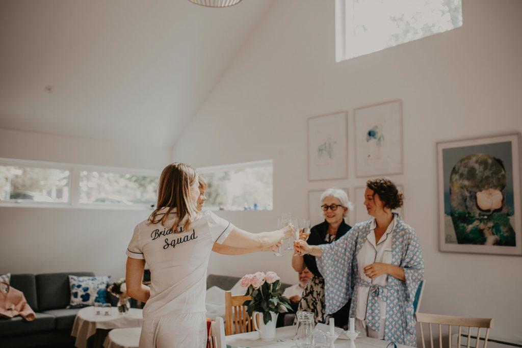 Bröllop på Hallands väderö