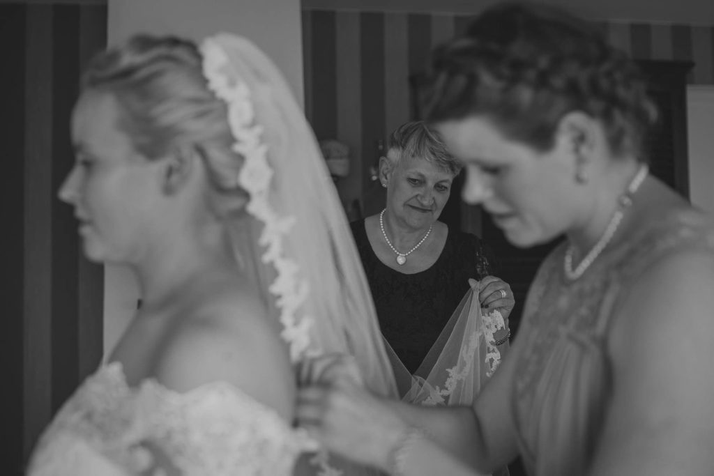 Internationellt bröllop i Mölle