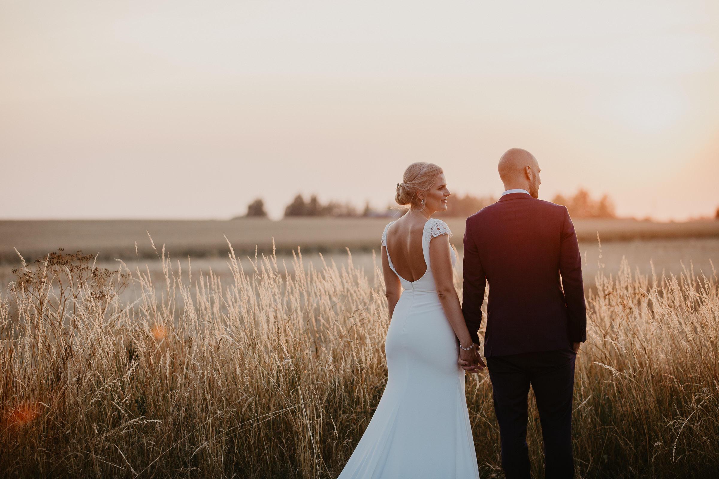 Bröllop Stallgården i Velling Bröllopsfotograf Skåne